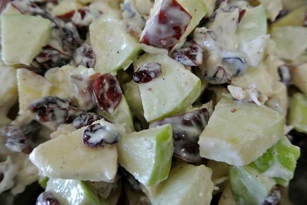 Dreamy Apple Cranberry Salad