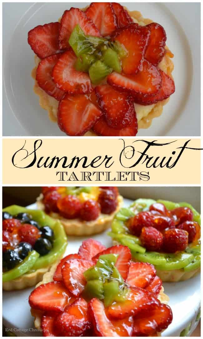 Summer Fruit Tartlets - Red Cottage Chronicles