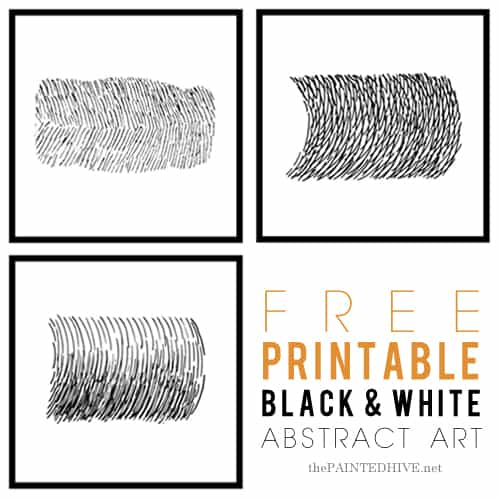 Simple and Effective Wall Art (with free printables)