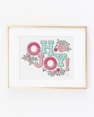 Oh Joy Printable Art Print by Splendid Supply Co.