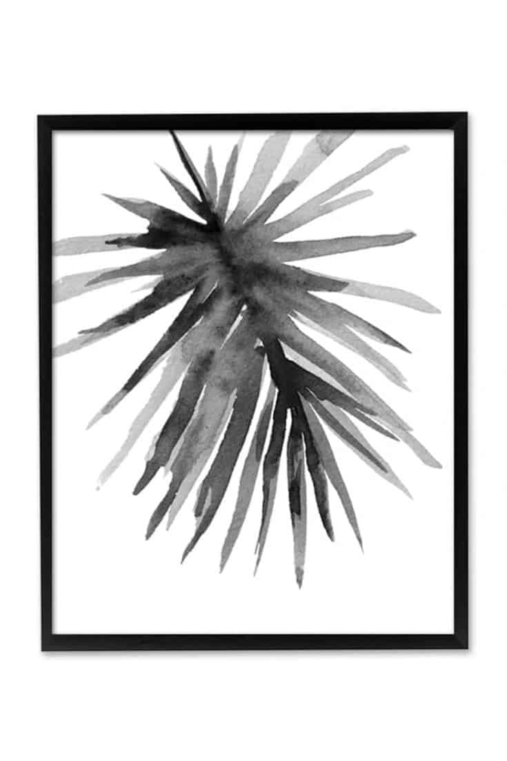 Spikes Abstract Printable Wall Art