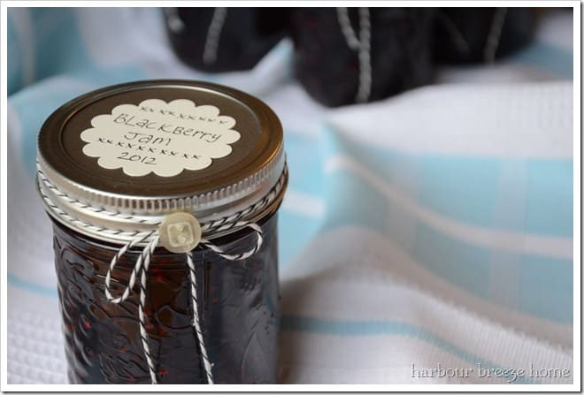 Labels are a handy canning jam supply you'll be glad you have!