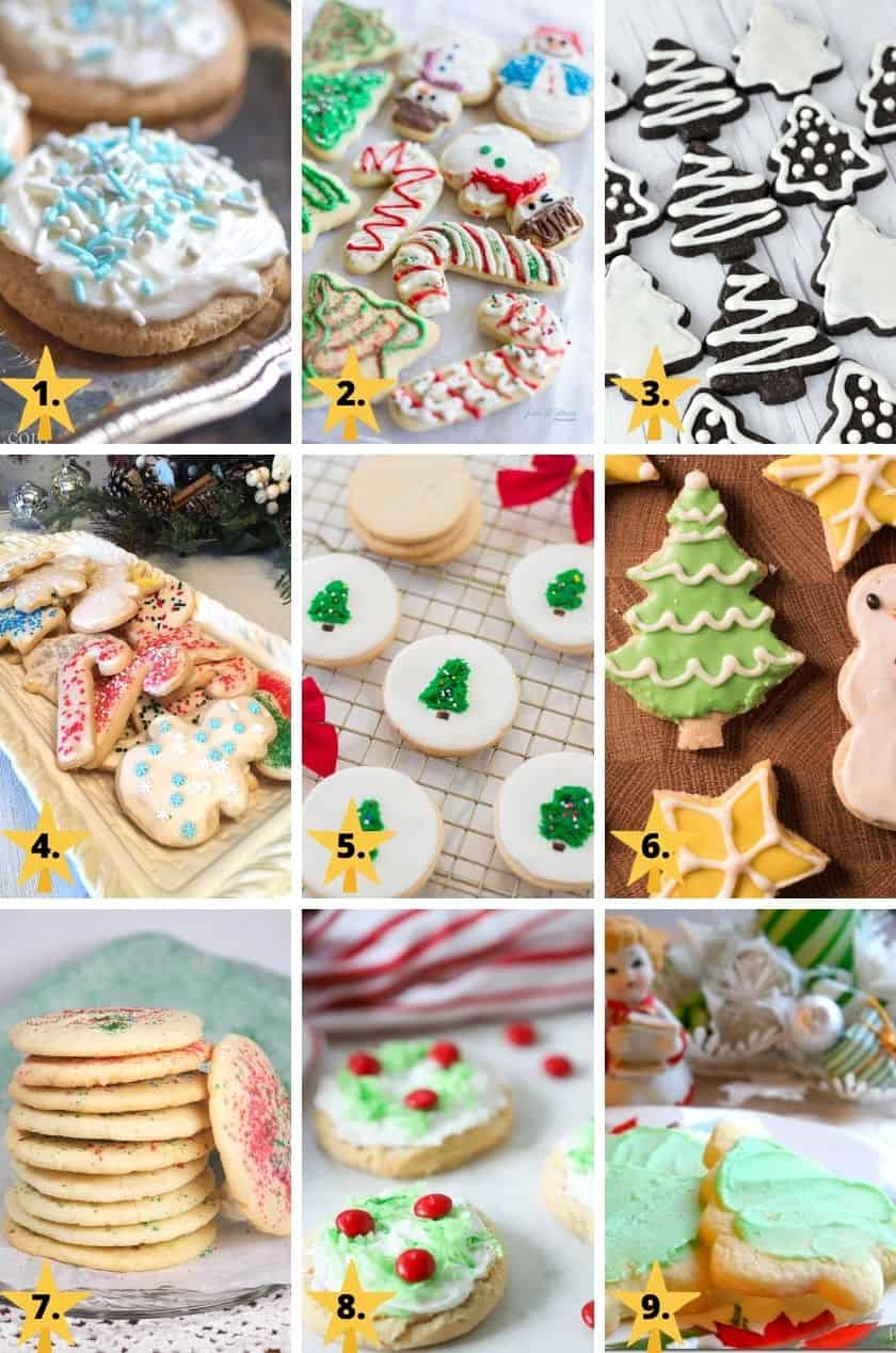 Easy Christmas Sugar Cookies Recipes with pictures