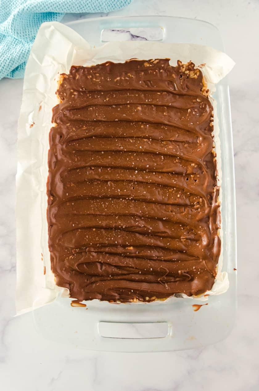 pan of no bake scotcheroos