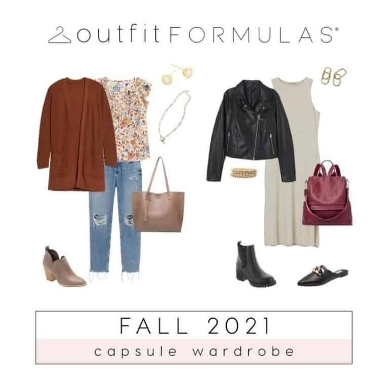 Fall Fashion 2021 Capsule Wardrobe Course Open Now