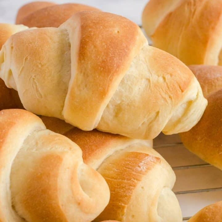 Bread Machine Dinner Rolls