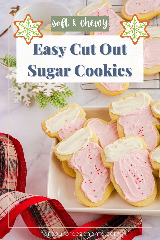 Rolled sugar cookies - cut out sugar cookies