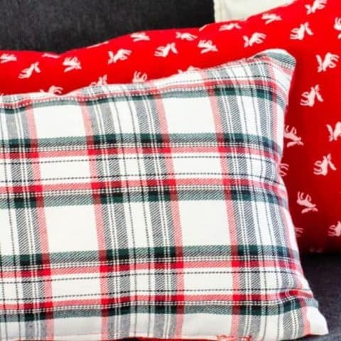 How to Make Reversible DIY Accent Pillow Covers
