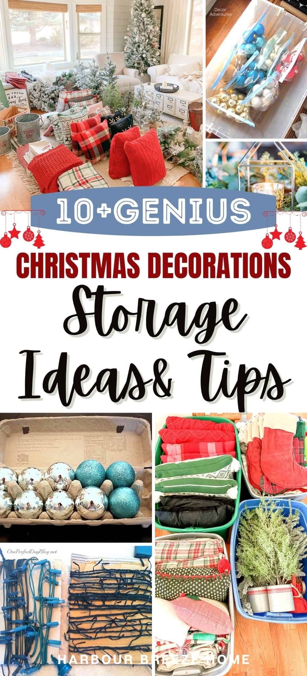 Christmas decoration storage ideas & tips