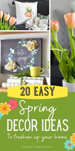 20 Easy Spring Decor Ideas that are quick and budget friendly