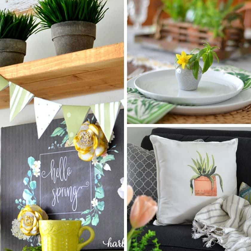 20 Simple Spring Decor Projects to Freshen up Your Home