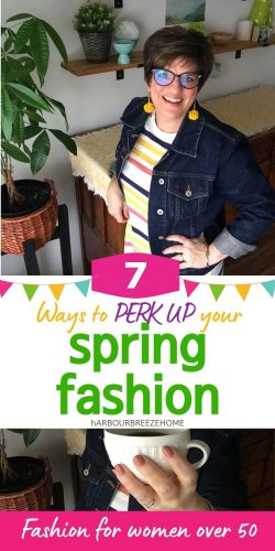 7 ways to freshen up your fashion for Spring - fashion for women over 50