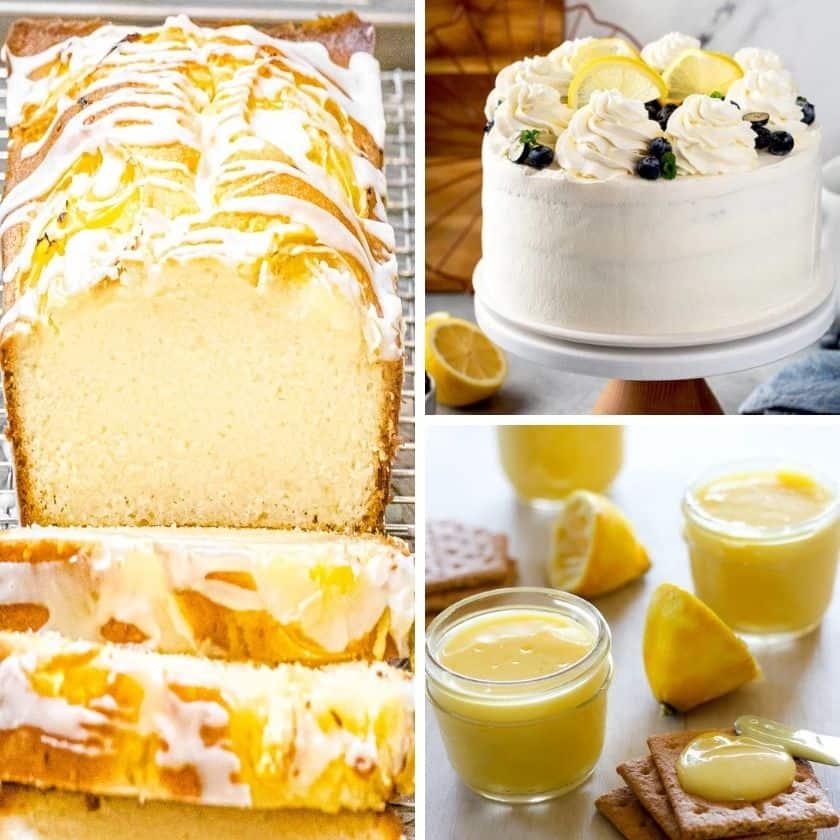 25+ Amazingly Yummy Sweet & Savory Lemon Recipes