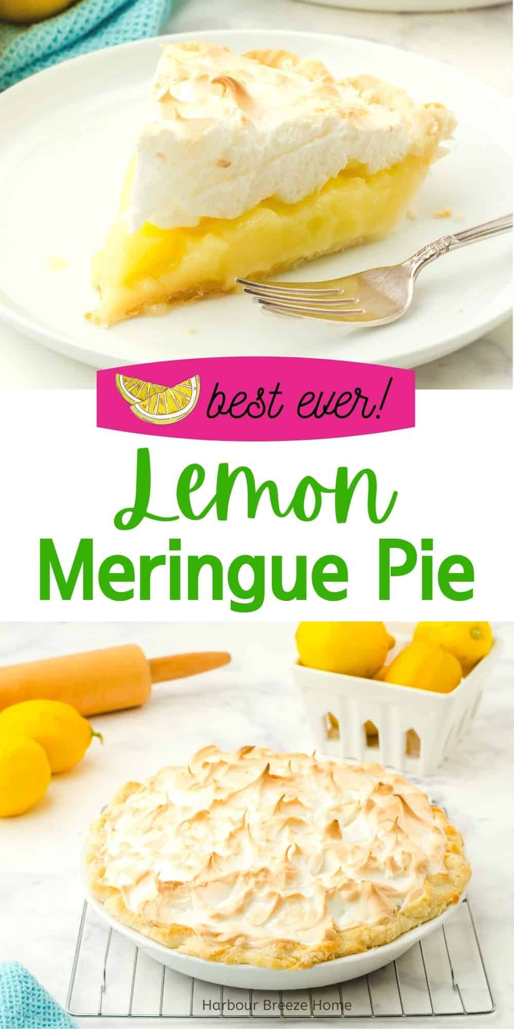 How to make the best ever Lemon Meringue Pie