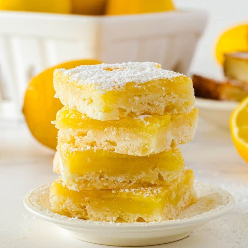 Grandma's Luscious Lemon Bars Recipe