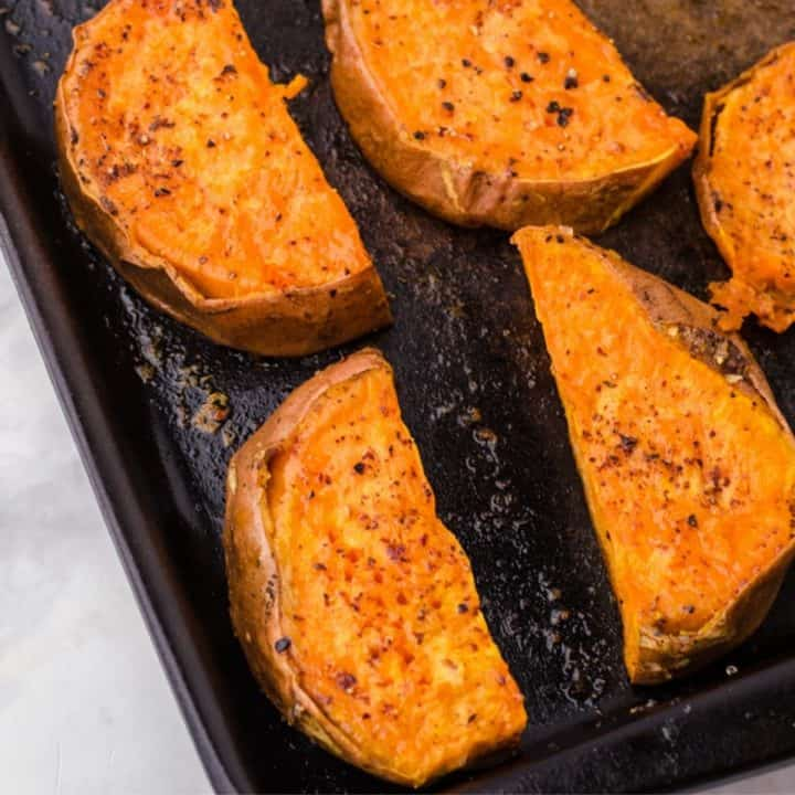 How to Roast a Large Sweet Potato Quick