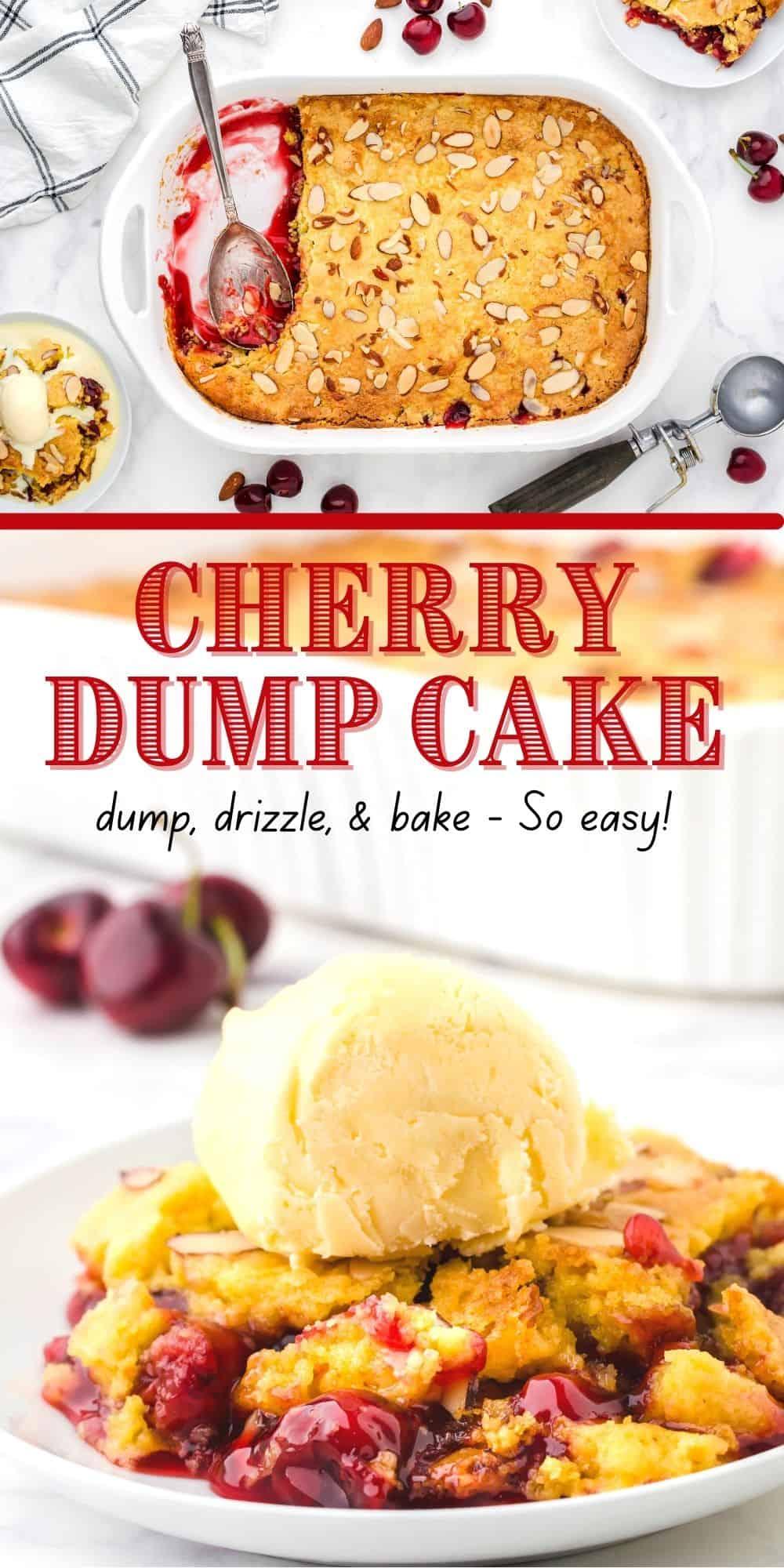 How to Make Cherry Dump Cake Recipe