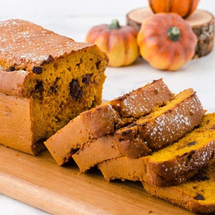 Easy Pumpkin Bread with Canned Pumpkin and Yellow Cake Mix Recipe