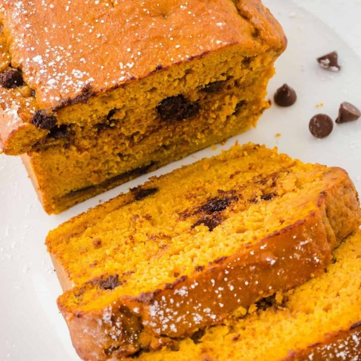 Easy Pumpkin Bread with Cake Mix & Canned Pumpkin Recipe
