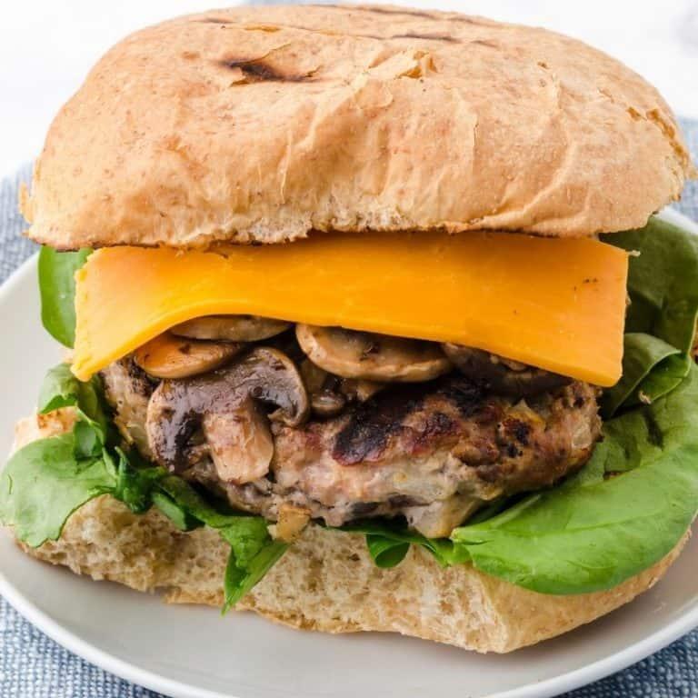 The BEST EVER Homemade Turkey Burgers